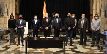 Trabajadores, empresas y la Generalitat gestionarán juntos la mayor inversión de la historia de Catalunya.