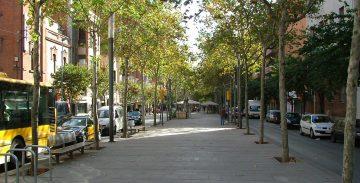 Sant Andreu es uno de los barrios donde el comercio ha vuelto después del confinamiento.