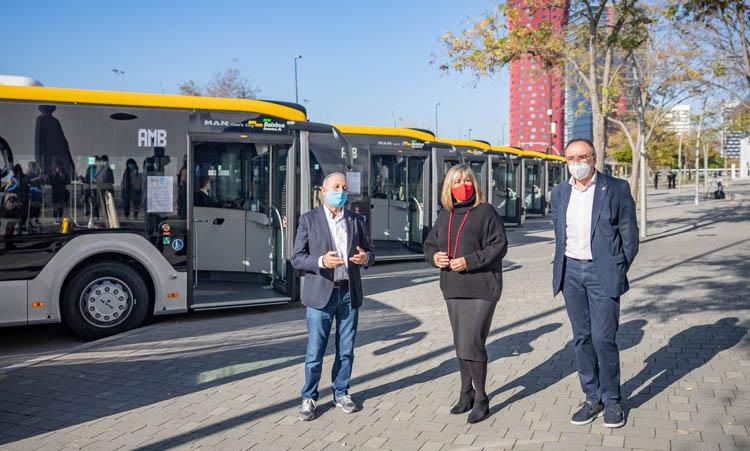 Los autobuses híbridos consumen un 20% menos que los convencionales.