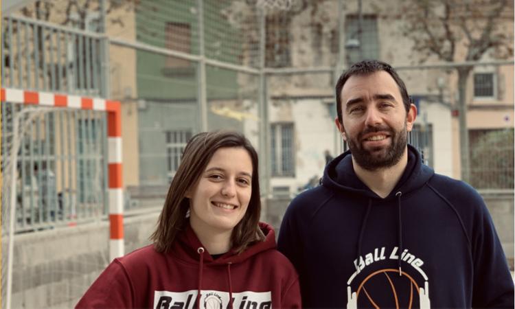 Laura Solé y Artiz Tomas han creado su propia marca de ropa deportiva. - Foto: www.balline.es