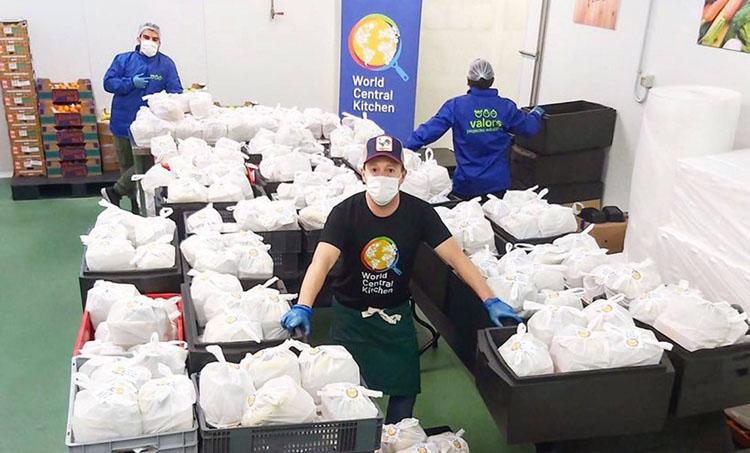 Fotografia del Banc dels Aliments.