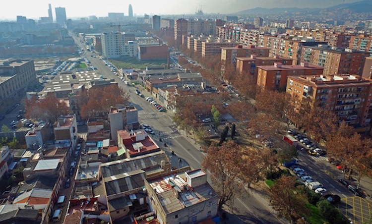 Inspectores visitarán las viviendas del Besòs Maresme para estudiar mejoras. - Foto: Ajuntament.