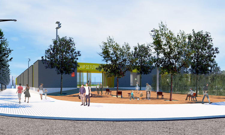 En abril comenzará a construirse el nuevo campo de fútbol de Baró de Viver largamente reivindicado desde que desapareció el anterior, en 1985