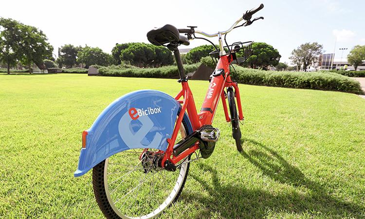 Año nuevo, bicicletas eléctricas nuevas