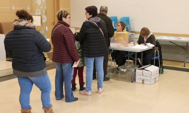 Las elecciones catalanas del 14 de febrero se celebrán con normalidad, pero con un estricto protocolo de seguridad. Foto: ACN - Gerard Vilà