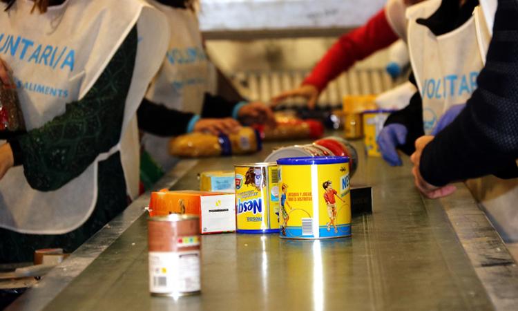El Gran Recapte recauda alimentos para los más necesitados