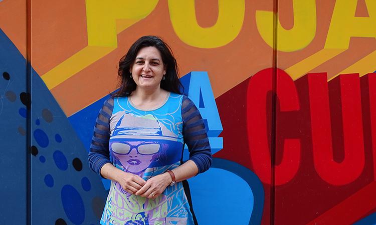 """Eugènia Delgado: """"Cuando vas a hacer teatro, consigues otras cosas"""""""