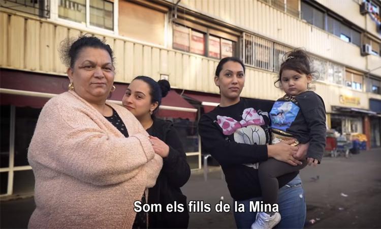 Fills de la Mina reivindica las cosas positivas del barrio de la Mina.