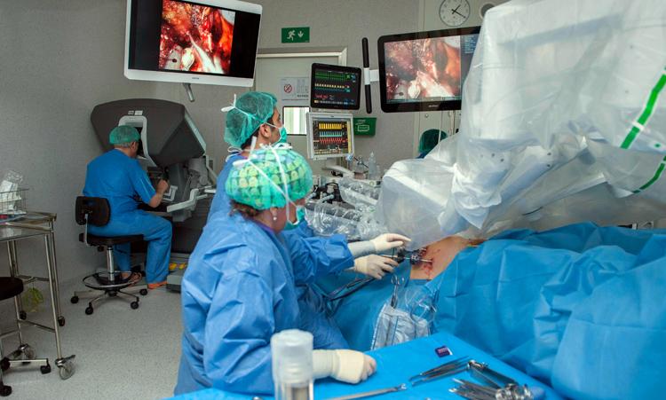 Los quirófanos del Hospital de Bellvitge en pleno funcionamiento. - Foto: Hospital de Belllvitge.