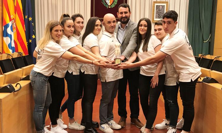 Karatekas de La Salut triunfan en Europa