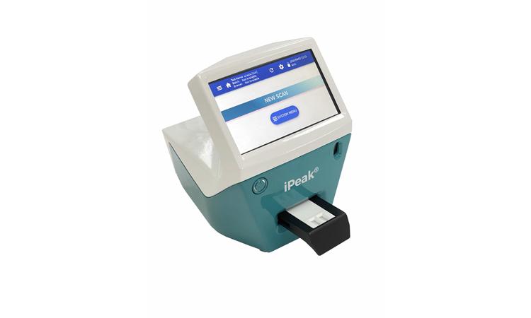 Un lector de tests ràpidos que facilita el grado de infección l covid-19.