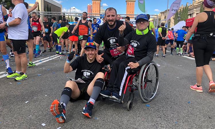 Juntos corremos más maratones