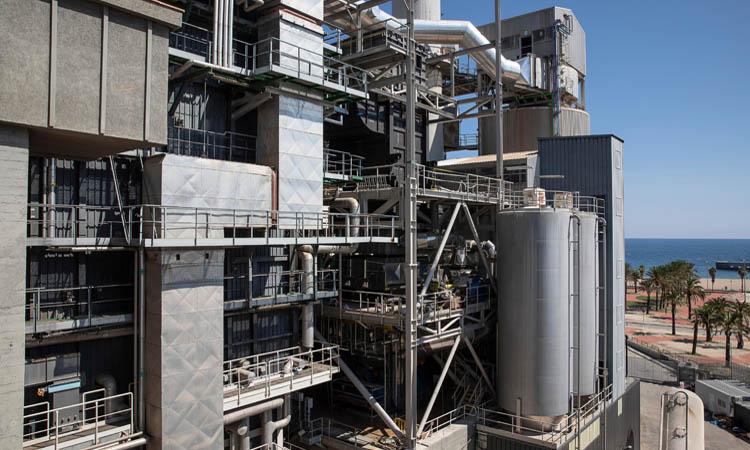 Imagen de la planta de incineración de residuos.