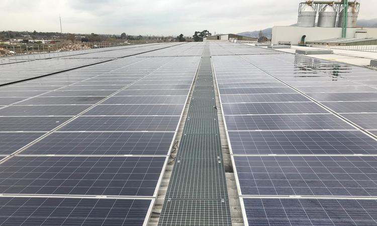 Energía renovable para reciclar residuos
