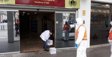 Empresas y ciudadanos donan 52.600 piezas de material sanitario