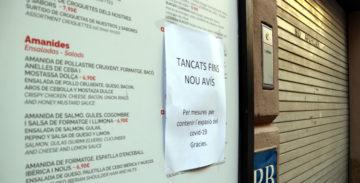 Los restaurantes cerrados podrán renegociar sus contratos de alquiler.