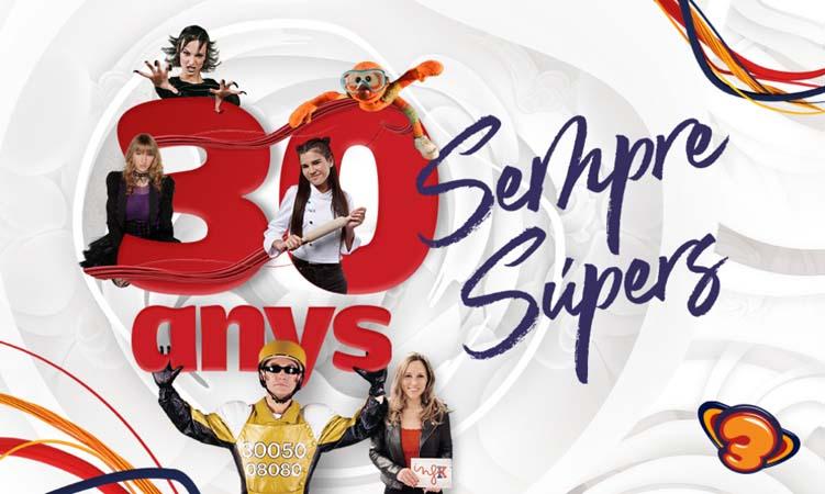 El Club Super 3 celebra en 2021 sus 30 años de vida