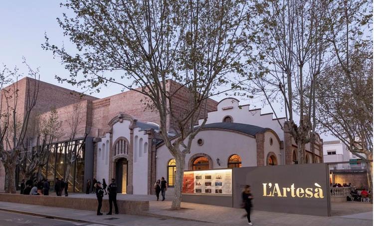 El Teatre L'Artesà del Prat ha sido premiado por su proyecto de rehabilitación.