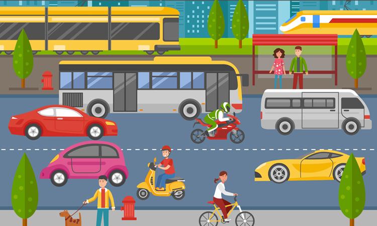 Más transporte público para que los coches se queden en casa