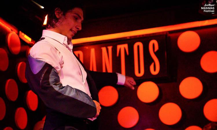 El Yiyo en una actuación en el Masimas Festival.